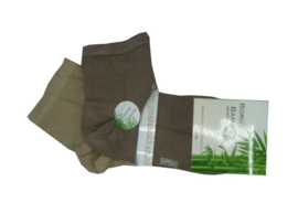 Bamboe Biker Sock | 2 TINTEN BEIGE | NAADLOOS | BORU