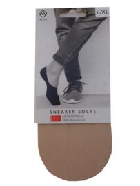 SNEAKER SOKKEN | BEIGE | NAADLOOS | STEPS