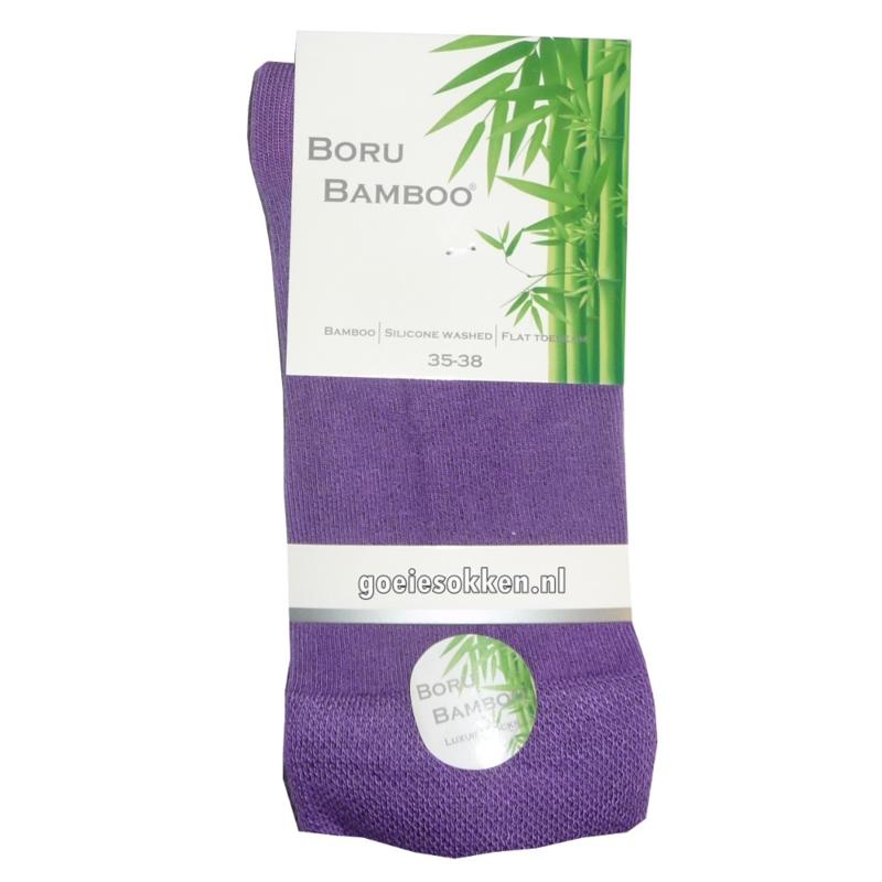 Bamboe-sok (paars) l BORU