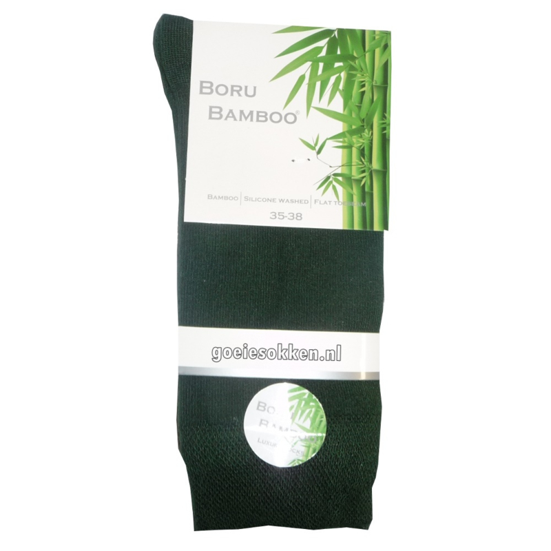 Bamboe-sok (donker groen) l BORU