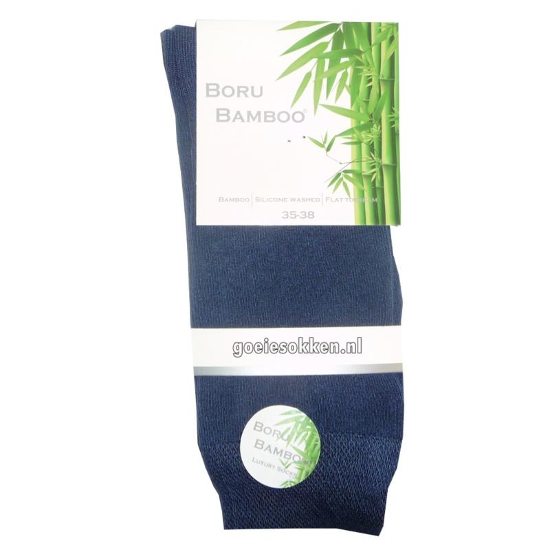 Bamboe-sok (new bleu) l BORU