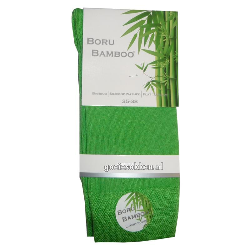 Bamboe-sok | APPEL GROEN | NAADLOOS | BORU