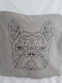 Kussenhoes franse bulldog
