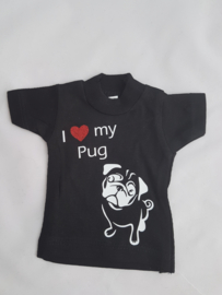 Minishirt mopshond