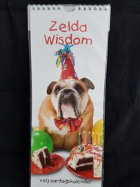 Zelda Wisdom verjaardagskalender engelse bulldog