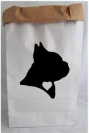 Paperbag Franse bulldog