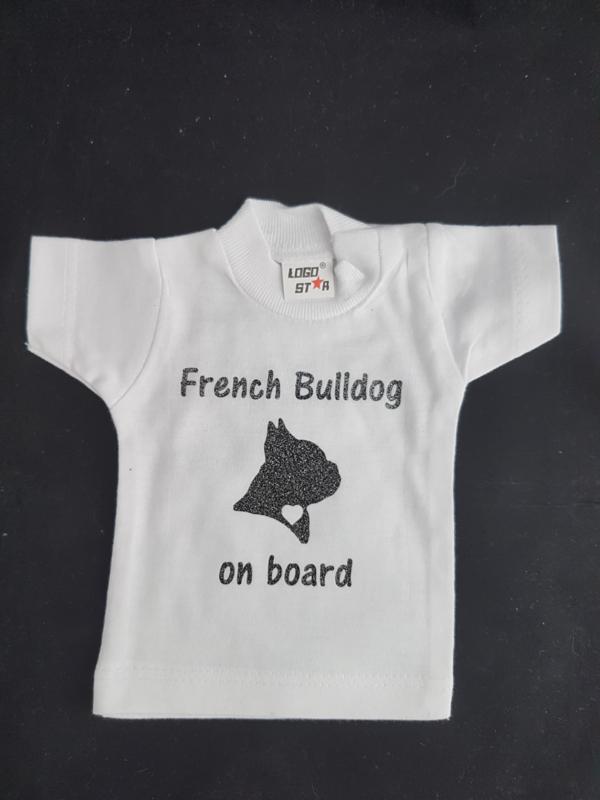 Minishirt franse bulldog