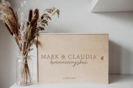 Herinneringsbox | bruiloft