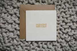 Houten kaart | cheers