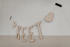 Geboorteslinger | letters