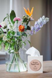Happy Tears | tissue box