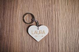 Sleutelhanger hartje | LAURA