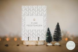 Kerstkaart | fijne feestdagen
