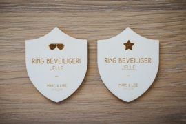 Badge ring beveiliger