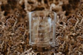 Glas | getuige vragen