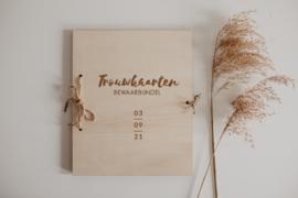 Bewaarbundel trouwkaarten