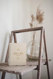 Houten gastenboek | gepersonaliseerd A5
