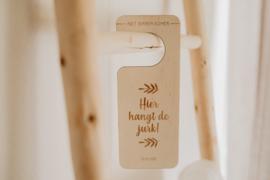 Deurhanger | trouwjurk