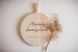 Borrelplank rond | Mama's borrelplank