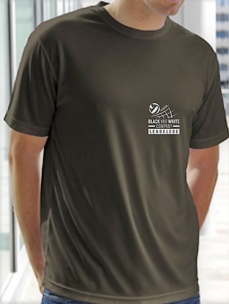 Coolmax T-shirt Heren ( round neck)