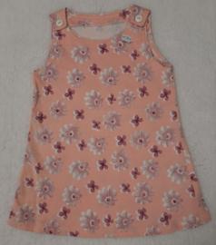 Lief roze tricot jurkje maat 86