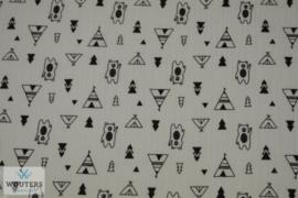 katoenen hydrofiele luiers  tipi/beertjes (65 x 65)