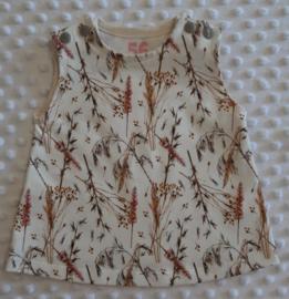 Jurkje tricot droogbloemen