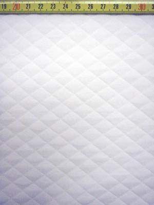 Dekentje wit tricot wiber