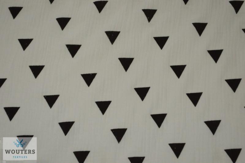 Katoenen hydrofiele doek triangel(100 x 100)
