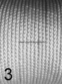 touw 3mm lichtgrijs