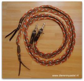 western touwteugel plat gevlochten v motief