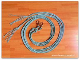 western touwteugel plat gevlochten symmetrie motief