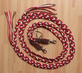 western touwteugel plat gevlochten zigzag motief