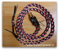 touwteugels western rond gevlochten