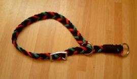 sliphalsband plat gevlochten