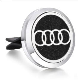 Autogeur clip met navulling Audi