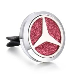 Autogeur clip met navulling Mercedes