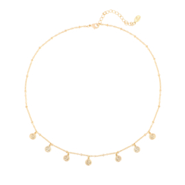 Ketting Cute Coin - Goud