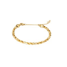 Armband Twisted - Goud