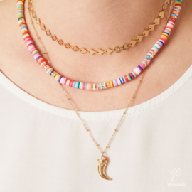 Ketting We Heart Horn - Goud