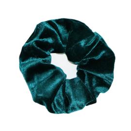 Scrunchie -  Sweet Velvet Petrol