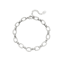 Armband Entwined - Zilver