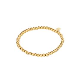 Armband Midi Beads - Goud