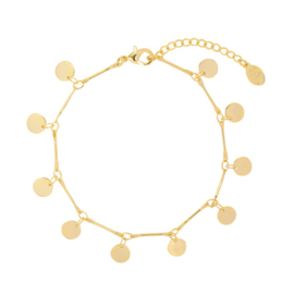 Armband Circles - Goud