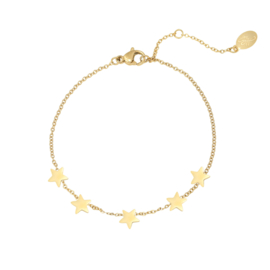 Armband Stars - Goud