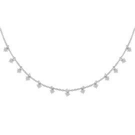 Ketting Universe Star - Zilver