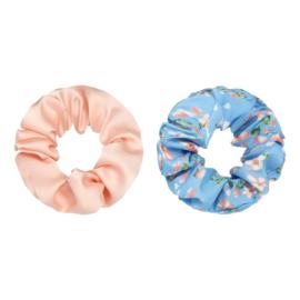 Scrunchie Set - Rosy