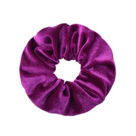 Scrunchie -  Sweet Velvet Purple