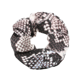 Scrunchie - Snake Brown