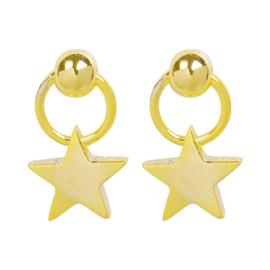Oorbellen Shining Star - Goud